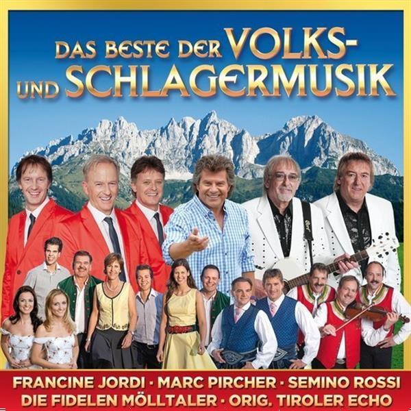 Grote foto divers das beste der volks und schlagermusik cd muziek en instrumenten cds minidisks cassettes