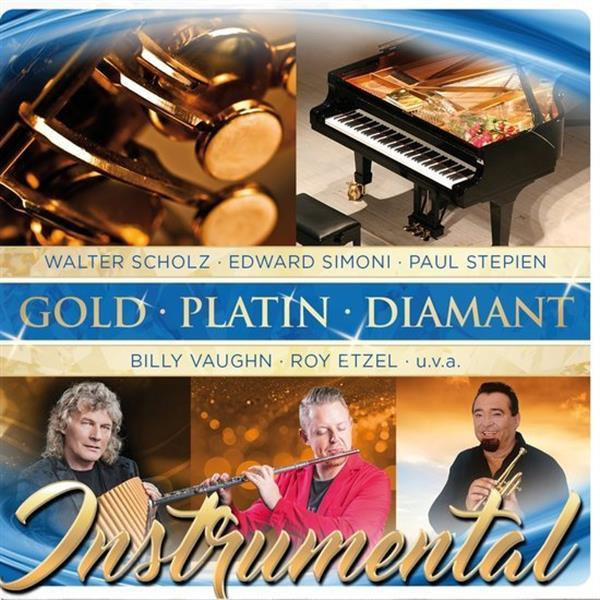 Grote foto divers gold platin diamant instrumental cd muziek en instrumenten cds minidisks cassettes