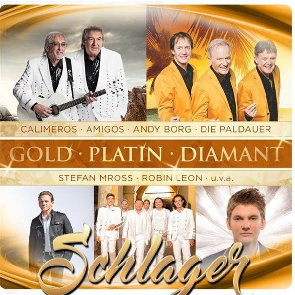 Grote foto divers gold platin diamant schlager cd muziek en instrumenten cds minidisks cassettes