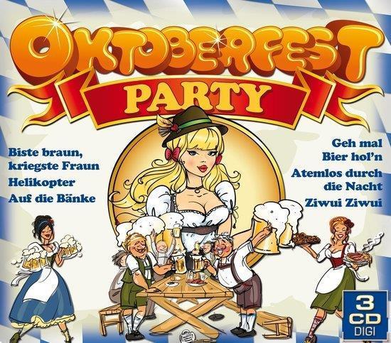 Grote foto divers oktoberfest oktoberfest party 3cd muziek en instrumenten cds minidisks cassettes