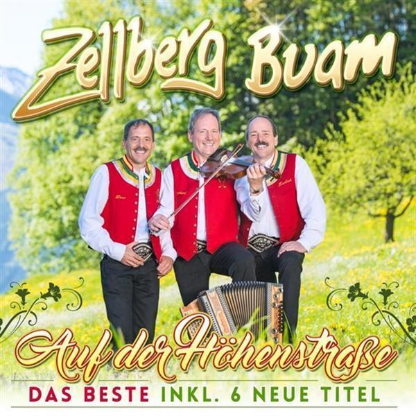 Grote foto zellberg buam auf der h henstrasse das beste inkl. 6 neu muziek en instrumenten cds minidisks cassettes