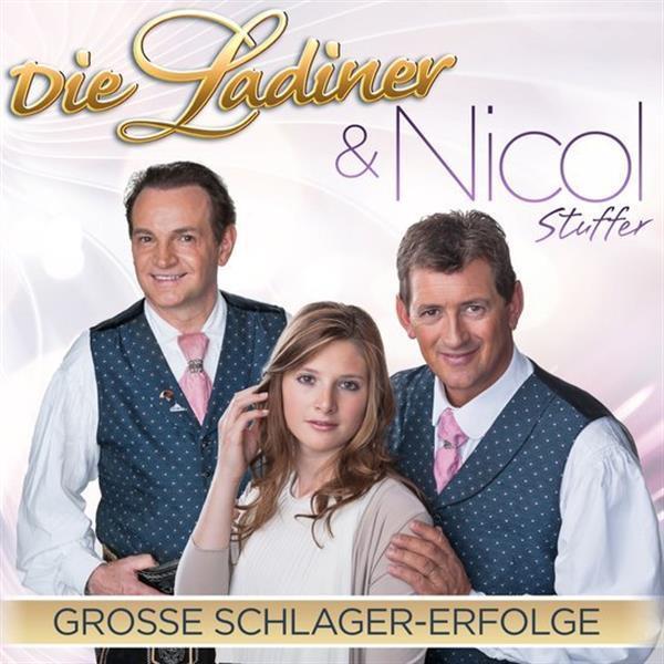Grote foto ladiner nicol stuffer grosse schlager erfolge im duett muziek en instrumenten cds minidisks cassettes