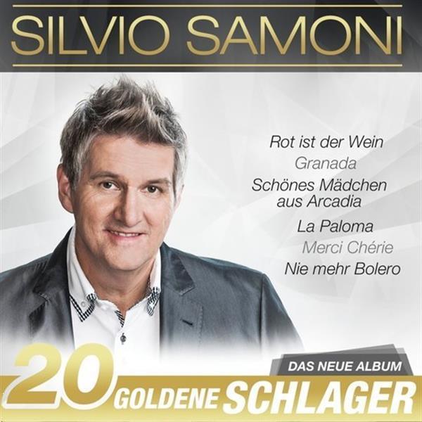 Grote foto silvio samoni 20 goldene schlager cd muziek en instrumenten cds minidisks cassettes