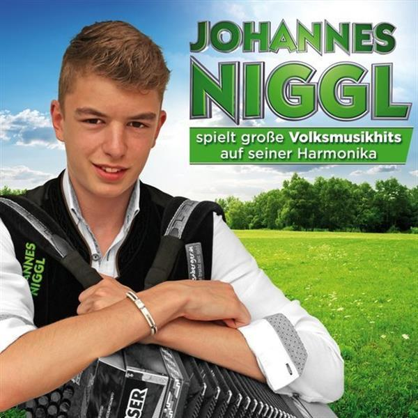 Grote foto johannes niggl spielt grosse volksmusikhits auf seiner har muziek en instrumenten cds minidisks cassettes