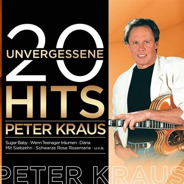 Grote foto peter kraus 20 unvergessene hits muziek en instrumenten cds minidisks cassettes