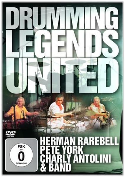 Grote foto york antolini rarebell drumming legends united dvd muziek en instrumenten cds minidisks cassettes