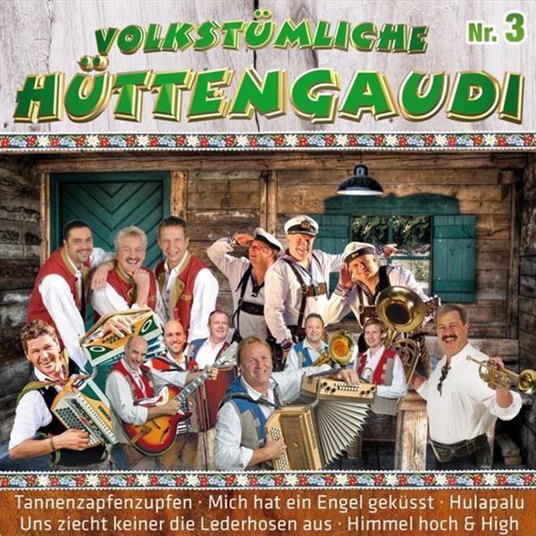 Grote foto diverse volkst mliche h ttengaudi nr. 3 2cd muziek en instrumenten cds minidisks cassettes