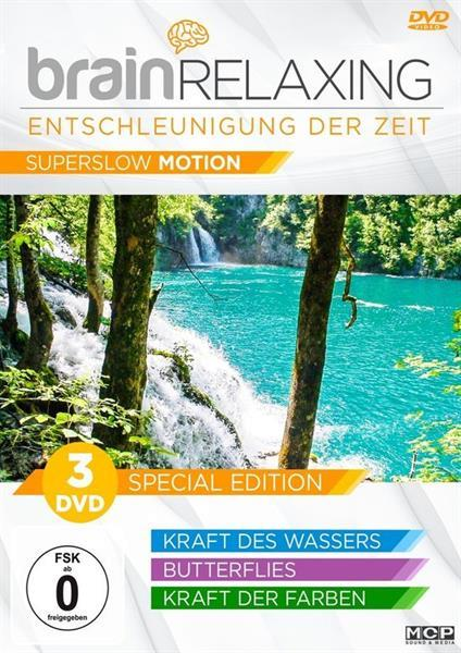 Grote foto brain relaxing special edition 3dvd muziek en instrumenten cds minidisks cassettes