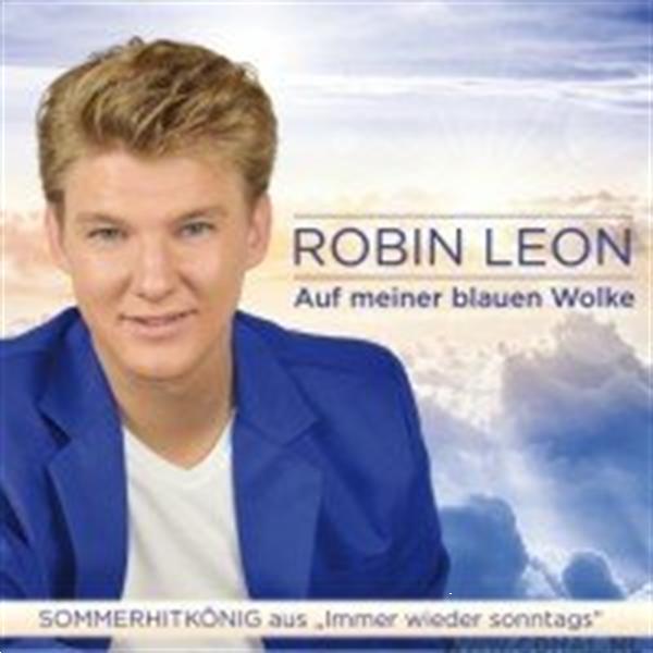 Grote foto robin leon auf meiner blauen wolke muziek en instrumenten cds minidisks cassettes