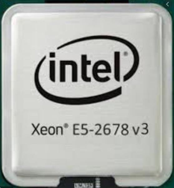 Grote foto sr1xr intel xeon processor e5 2678 v3 12c 30m cache computers en software processors