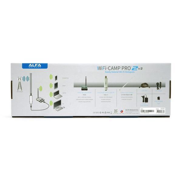 Grote foto alfa network wifi camp pro2v2 set tube una antenne r36a computers en software netwerkkaarten routers en switches