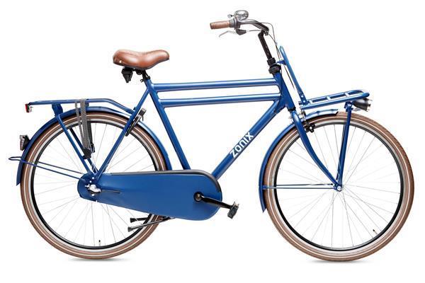 Grote foto zonix heren transportfiets 28 inch dutch h3 inchsaffier bla fietsen en brommers herenfietsen