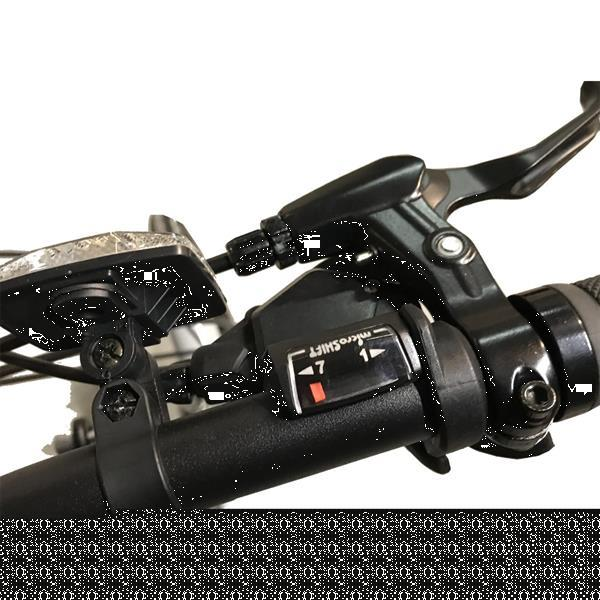 Grote foto zonix vouwfiets zwart fietsen en brommers herenfietsen