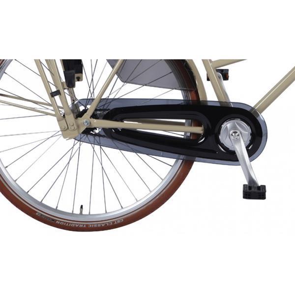 Grote foto zonix omafiets 28 inch donkere cr me fietsen en brommers herenfietsen