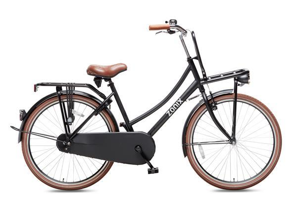 Grote foto zonix transportfiets 26 inch matzwart fietsen en brommers herenfietsen
