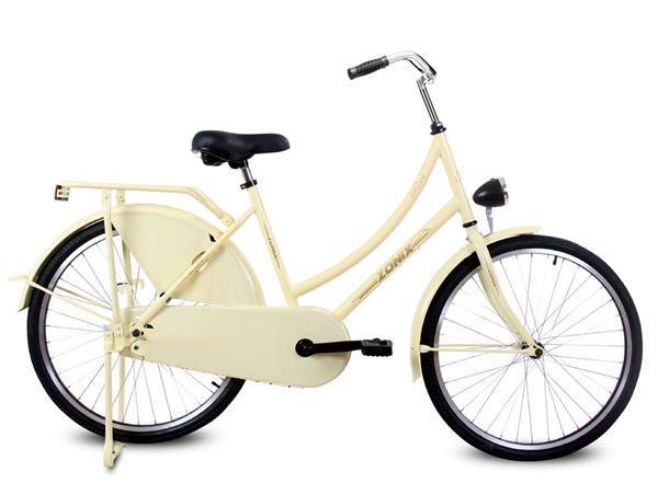 Grote foto omafiets zonix solo dutch 24 inch creme fietsen en brommers herenfietsen