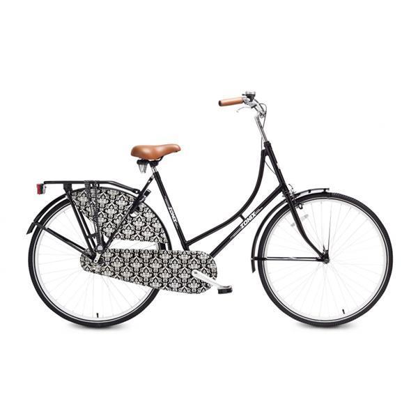 Grote foto meisjesfiets zonix city light 26 inch mat zwart fietsen en brommers herenfietsen