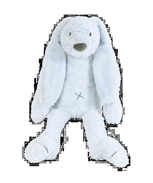 Grote foto big blue rabbit richie kinderen en baby knuffels en pluche