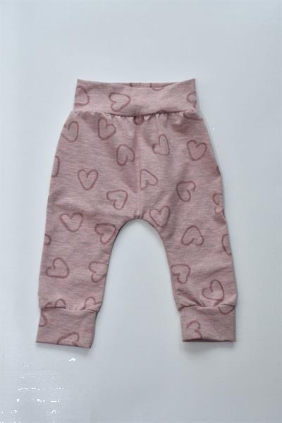 Grote foto skottig baby broekje roze met hartjes 74 kinderen en baby overige