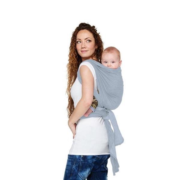 Grote foto bykay geweven denim draagdoek stone washed maat 5 kinderen en baby overige babyartikelen