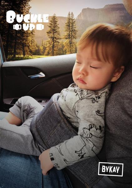 Grote foto bykay buckle up kinderen en baby overige babyartikelen
