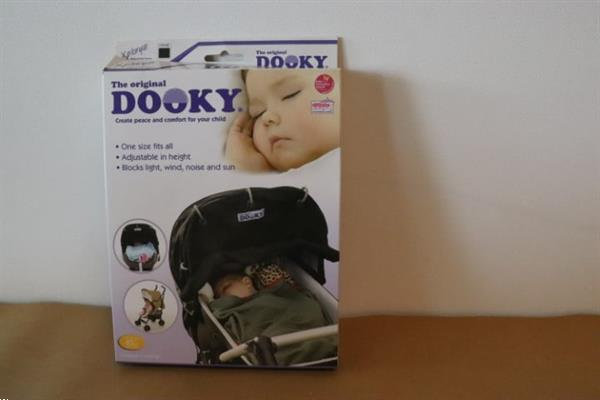 Grote foto dooky universal cover zwart kinderen en baby kinderwagens