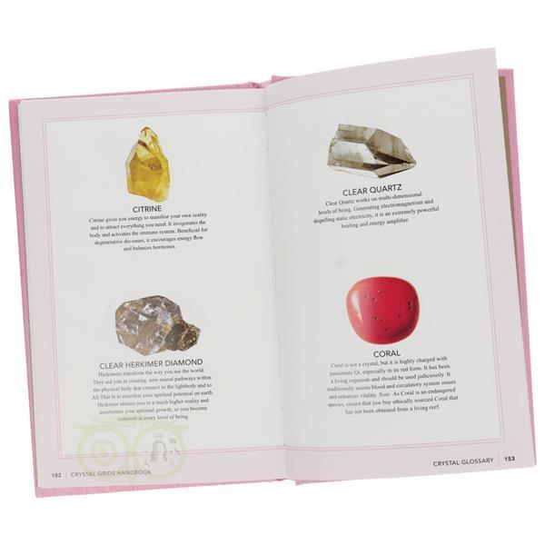 Grote foto crystal grids handbook judy hall boeken overige boeken