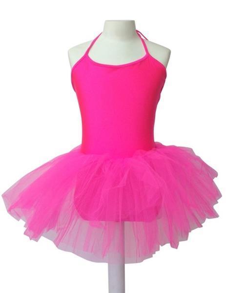 Grote foto balletpakje met tutu zuurstok roze maat 10 kledingmaat 110 kinderen en baby overige