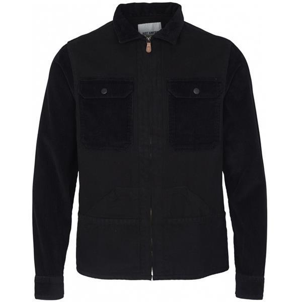 Grote foto just junkies zigmund jacket zwart kledingmaat s kleding heren jassen zomer