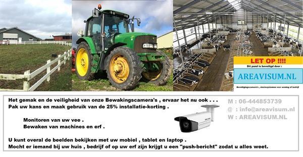 Grote foto bewaak uw kassen gewas en machines agrarisch glastuinbouw