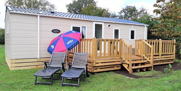 Grote foto herfstactie chalet te koop lauwersoog siblu r 52r caravans en kamperen stacaravans