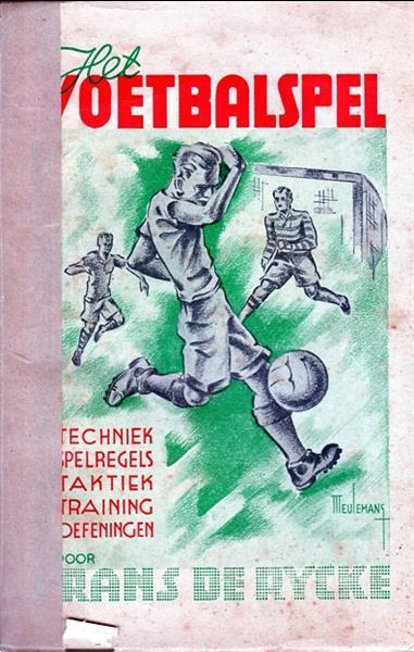 Grote foto het voetbalspel frans de rycke 1945 boeken sport