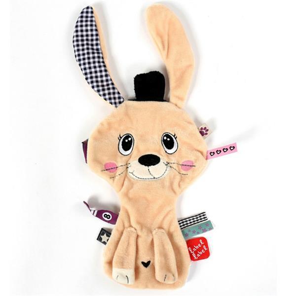 Grote foto label label friends rabbit knuffeldoekje kinderen en baby overige