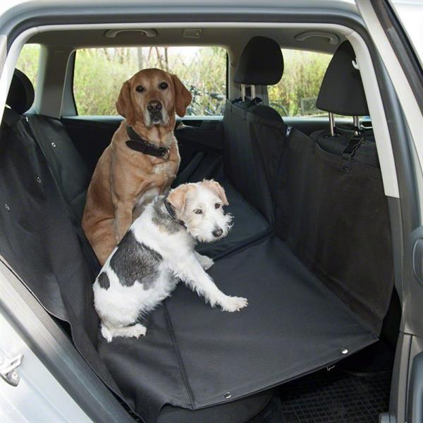 Grote foto polyester autodekens voor uw hond op achterbank. dieren en toebehoren toebehoren