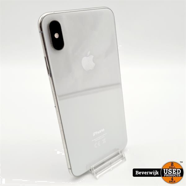 Grote foto iphone xs max 256 gb silver in zeer nette staat telecommunicatie apple iphone