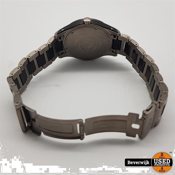 Grote foto boccia titanium 3555 02 heren horloge quartz in nette staa kleding dames horloges