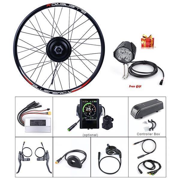 Grote foto bafang 48v 500w achterwiel hub motor fietsen en brommers elektrische fietsen