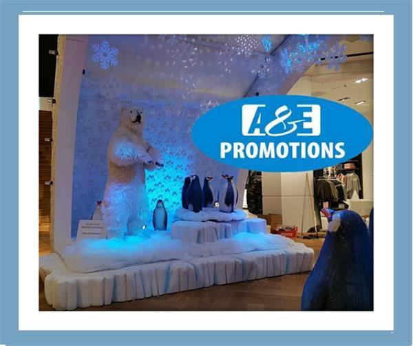 Grote foto witte attributen verhuur ijs beelden antwerpen diversen kerst