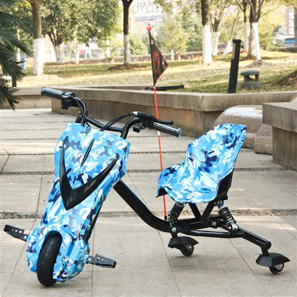 Grote foto drift trike 250w drift kart met vering kinderen en baby overige