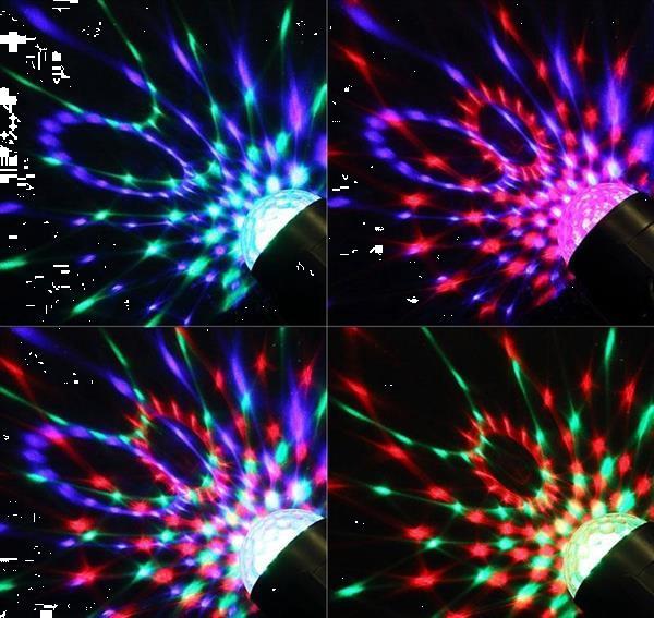 Grote foto disco bal bol verlichting licht led lamp voice afst. rgb muziek en instrumenten overige muziek en instrumenten