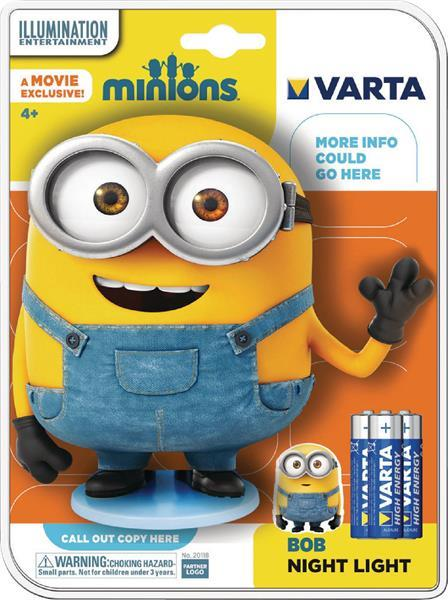 Grote foto minion led lampje huis en inrichting led verlichting