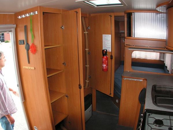 Grote foto dethleffs lowlander 490 caravans en kamperen caravans