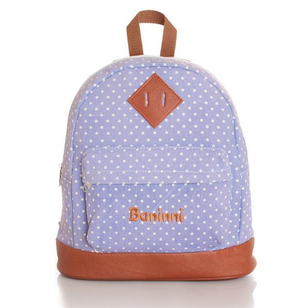 Grote foto kids backpack dotty soft purple kinderen en baby overige