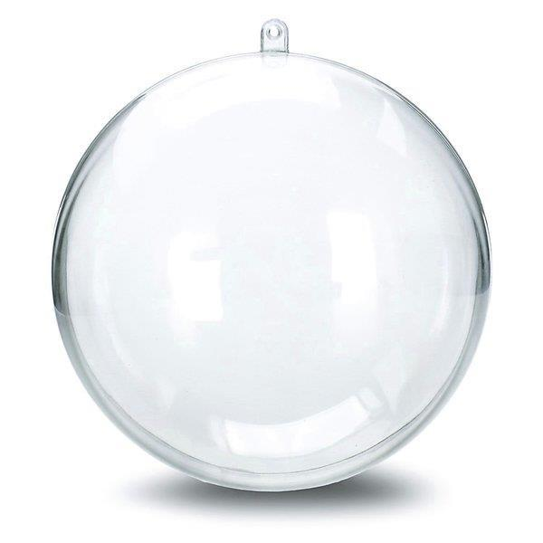Grote foto transparante ballen groot 21 cm tot klein 4 cm diversen kerst
