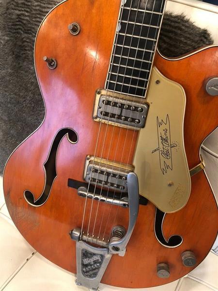 Grote foto gretsch 6120 1958 muziek en instrumenten gitaren akoestisch