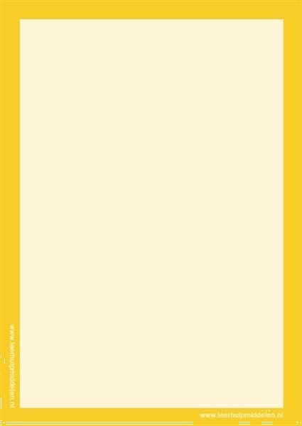 Grote foto gekleurde wisbordjes a5 30 stuks 30x geel zakelijke goederen kantoorartikelen