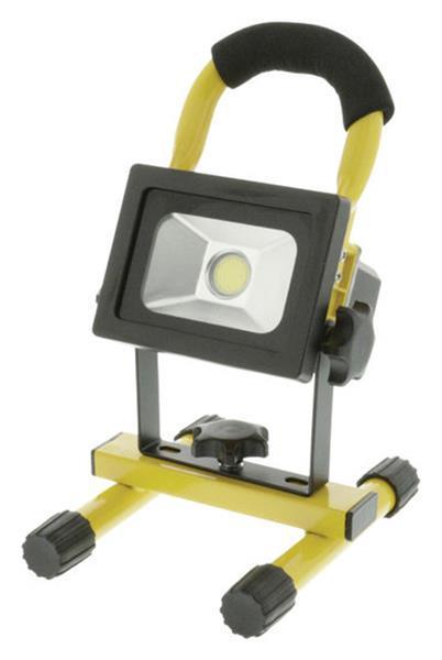 Grote foto mobiele oplaadbare cob led bouwlamp doe het zelf en verbouw bouwverlichting
