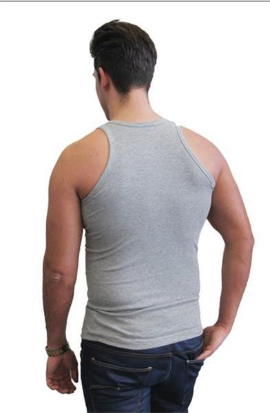 Grote foto 3x naft heren hemd grijs xl kleding heren ondergoed