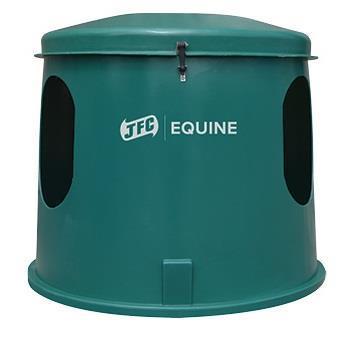Grote foto compacte hooihut hooistolp voor 1 3 paarden dieren en toebehoren paarden accessoires
