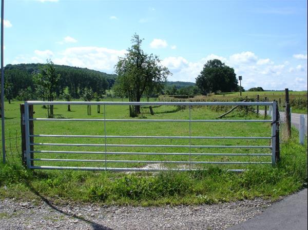 Grote foto landhek weidepoort schapenhek 4 mtr tuin en terras hekken en schuttingen